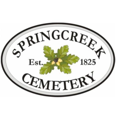 Springcreek Cemetery Square Logo